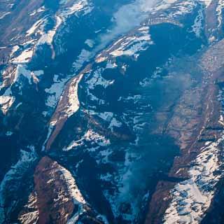 Luftbild vom Schweizer Juragebirge zwischen Grenchen und Moutier