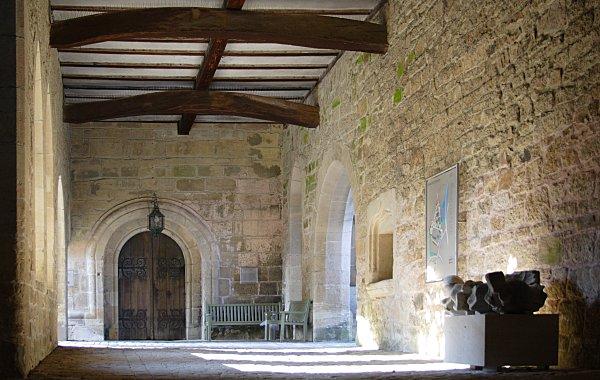 inside the (former) monastery
