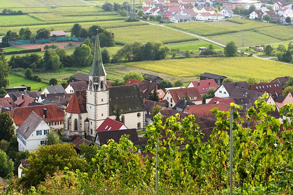 view of Unterjesingen
