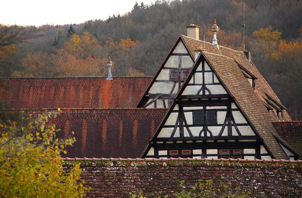 roofs of Bebenhausen