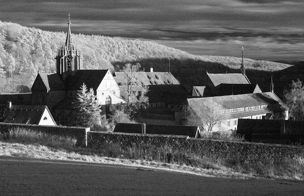 Bebenhausen, infrared photography