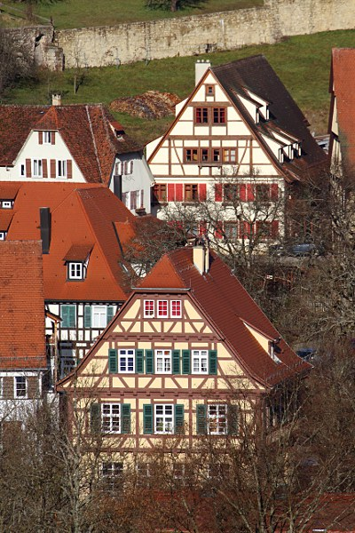 houses in Bebenhausen