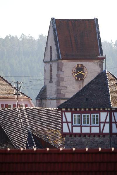 church tower of Zavelstein