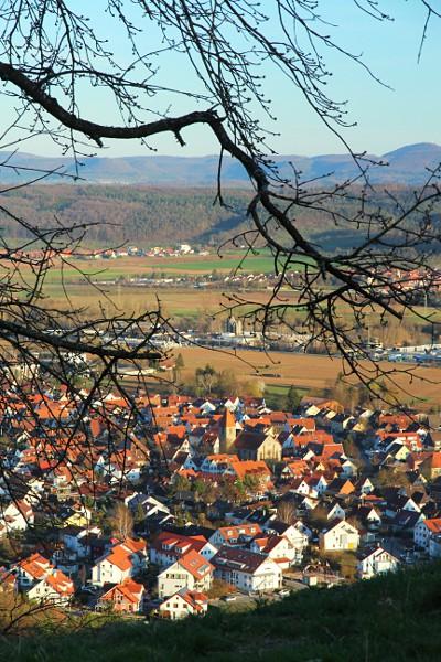 view of Hirschau (Tübingen)