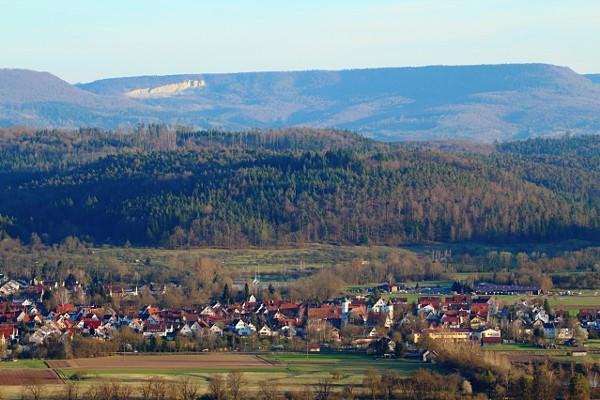 view of Bühl (Tübingen)