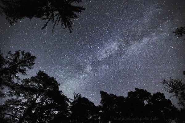Blick auf die Milchstraße