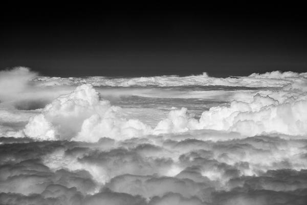 Wolken in infrarot