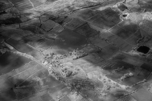 Wolkenschatten über der Toskana
