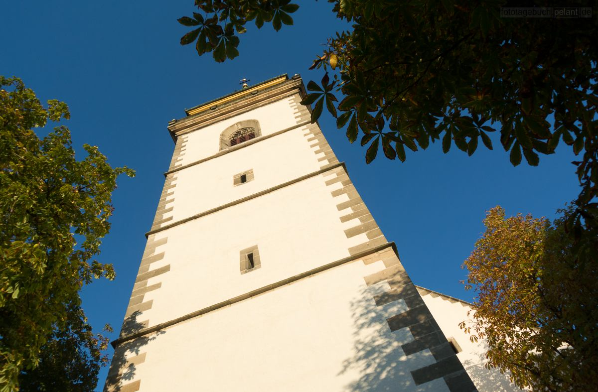church tower Metzingen Martinskirche