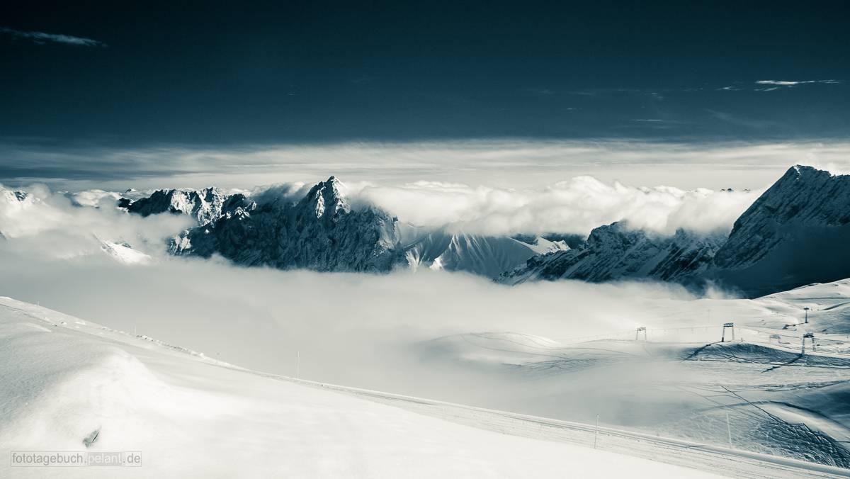 Zugspitzplatt Wolken