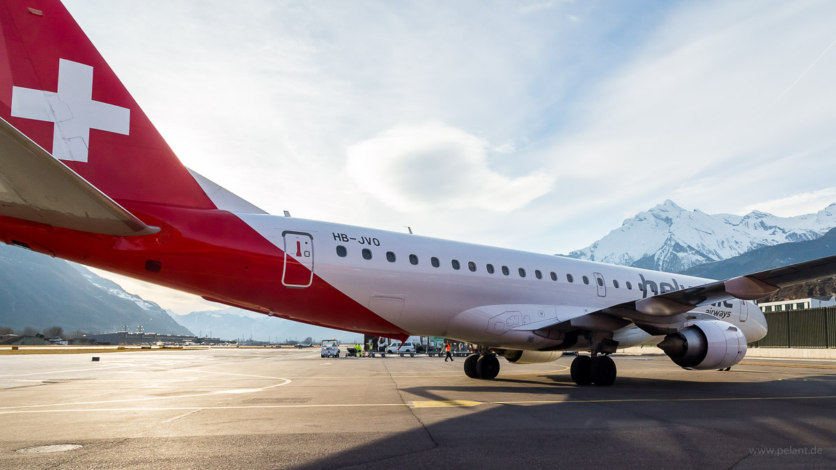 HB-JVO | Helvetic Airways | Embraer 190
