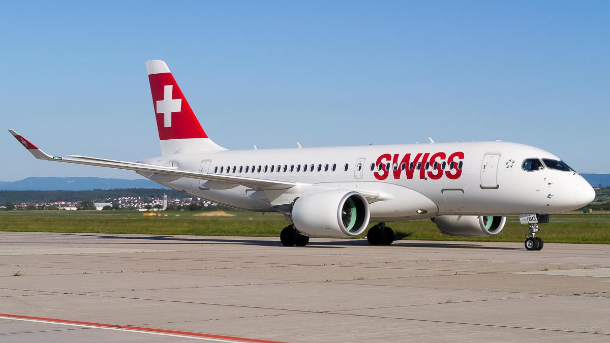 HB-JBG | Swiss Global Air Lines | Bombardier CS100