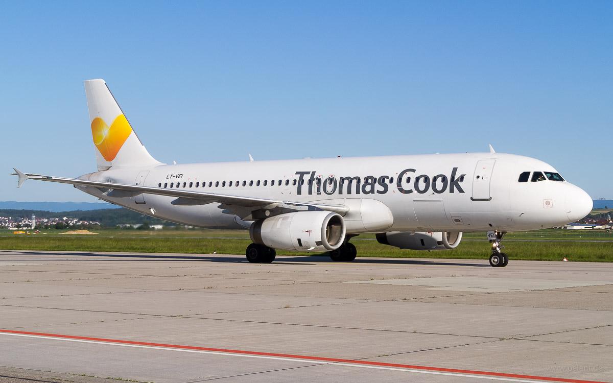 LY-VEI | Avion Express | Airbus A320-233