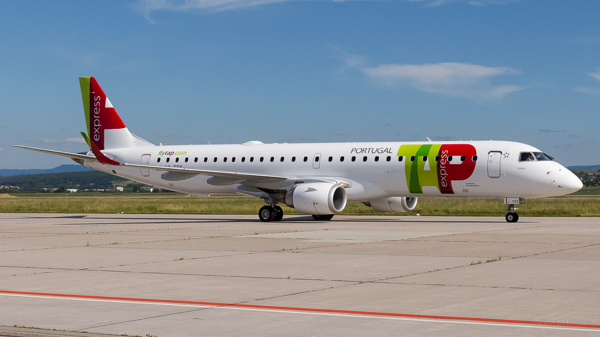 CS-TTY | TAP Express | Embraer 195