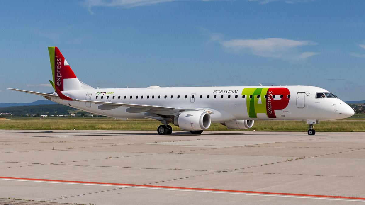 CS-TTY | TAP Express | Embraer 195