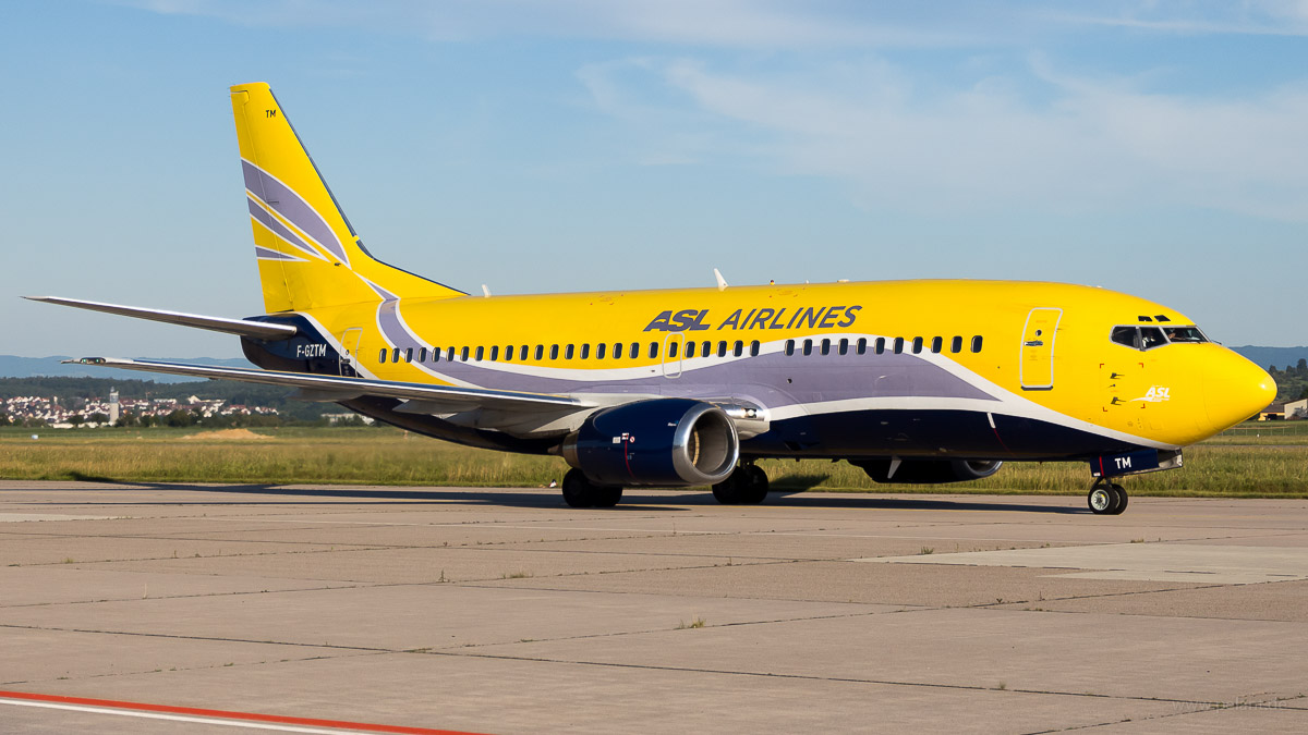 F-GZTM | ASL Airlines France | Boeing 737-3B3QC
