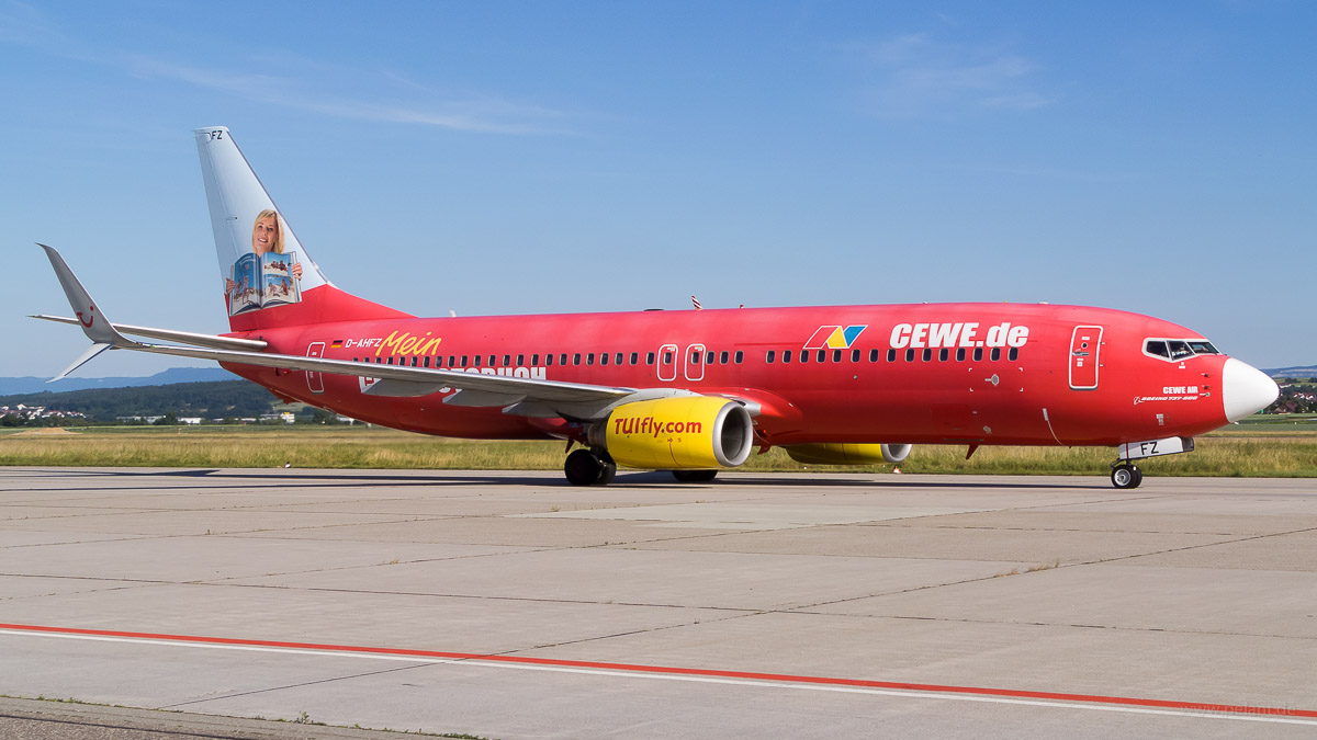 D-AHFZ | TUIfly | Boeing 737-8K5 | CEWE Fotobuch Livery