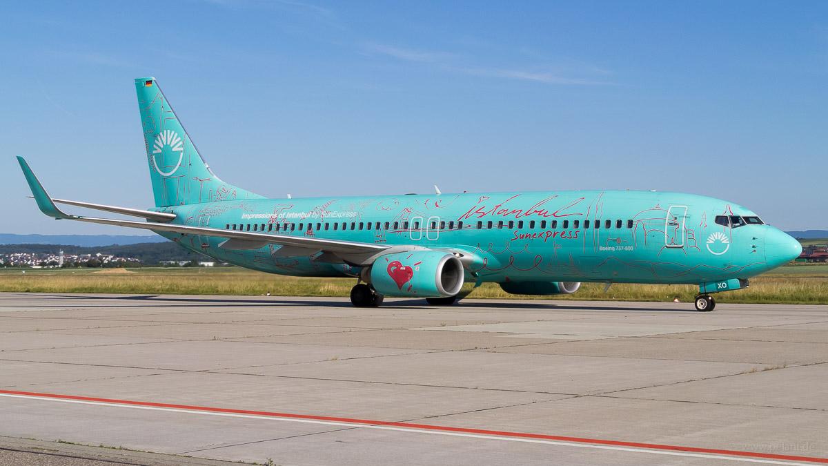 D-ASXO | SunExpress Deutschland | Boeing 737-8HX | Istanbul Livery