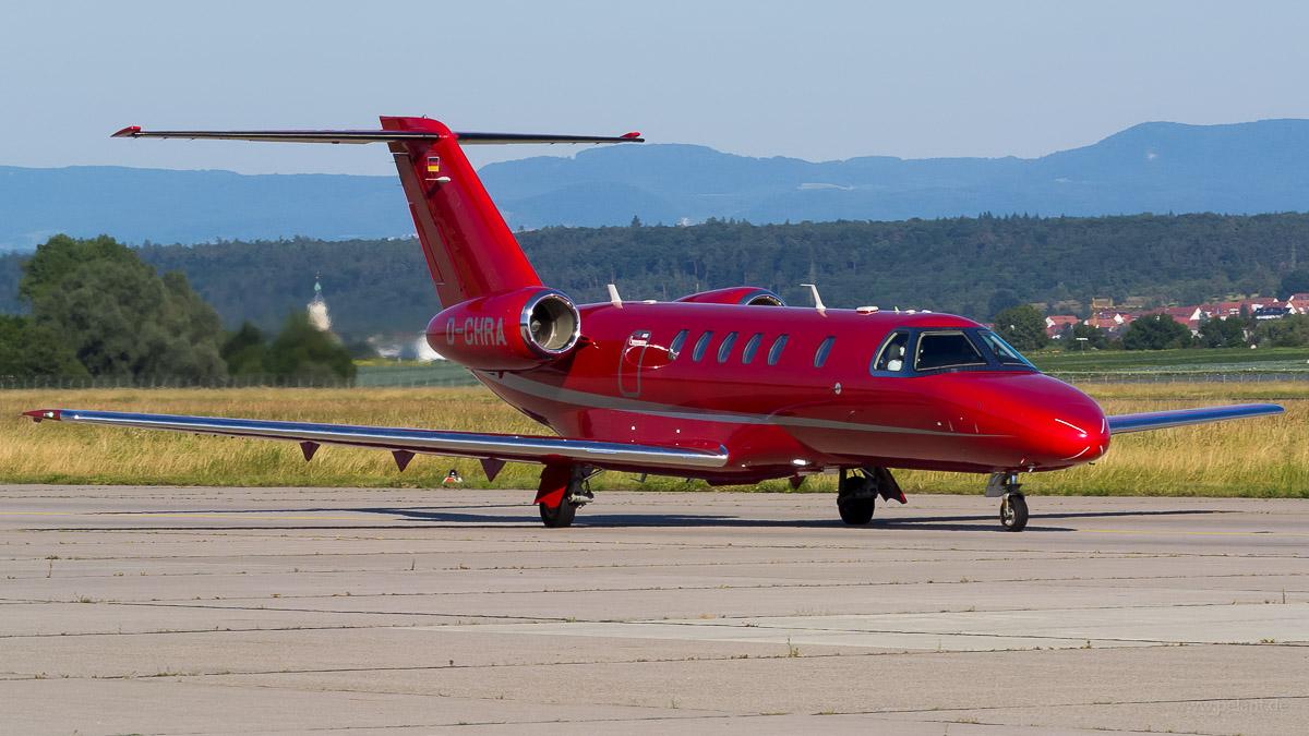 D-CHRA | E-Aviation Eisele Flugd. | Cessna 525C CitationJet CJ4 - red Cessna Citation Businessjet