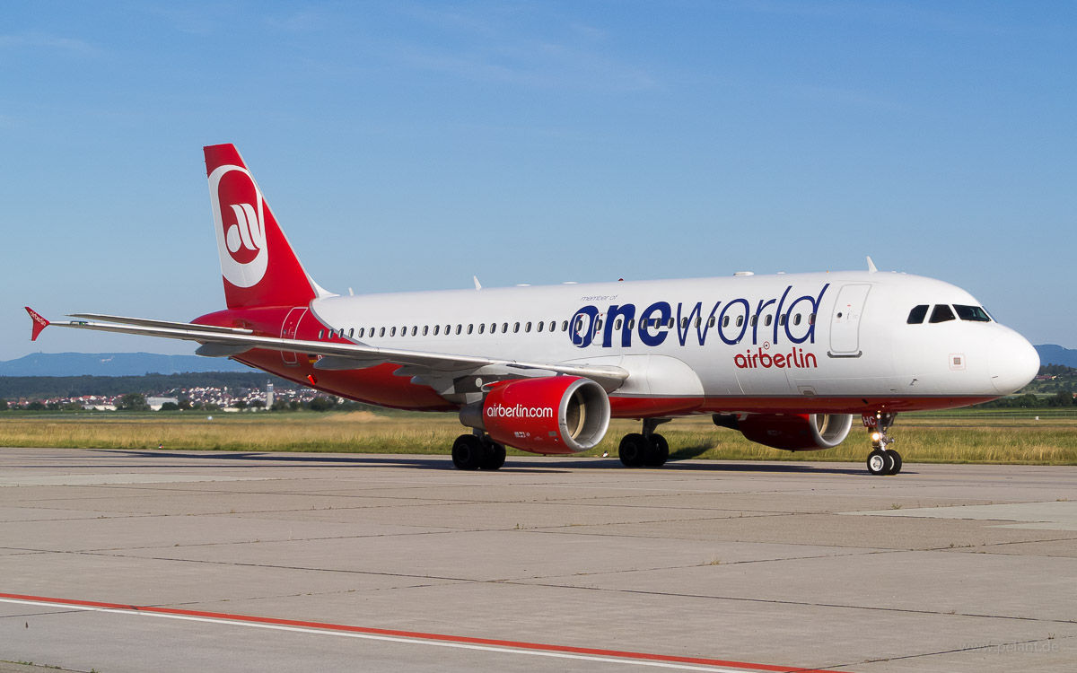 D-ABHC | Air Berlin Oneworld Livery | Airbus A320-214