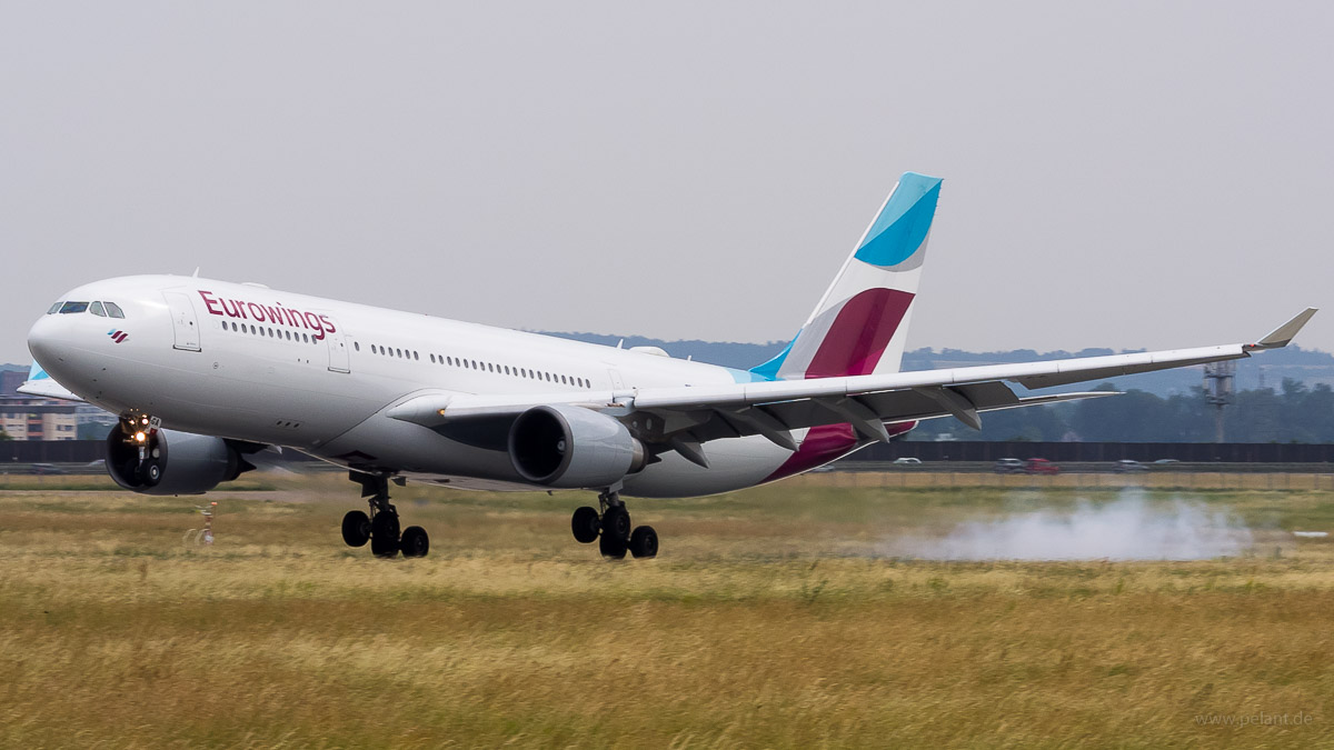 D-AXGA | Eurowings operated by Sun Express Deutschland | Airbus A330-203