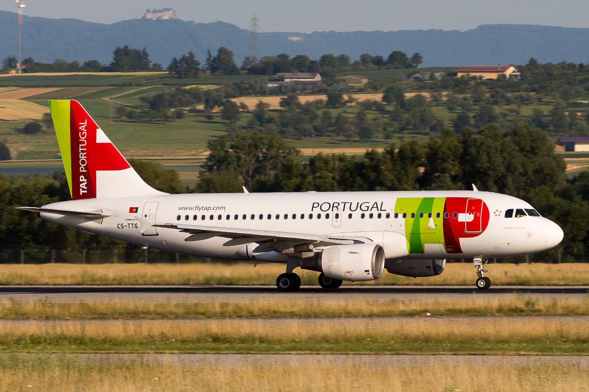CS-TTG | TAP Portugal | Airbus A319-111