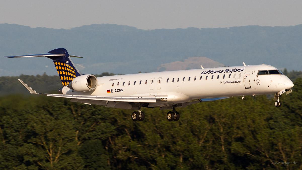 D-ACNR | Lufthansa CityLine | Bombardier CRJ900LR