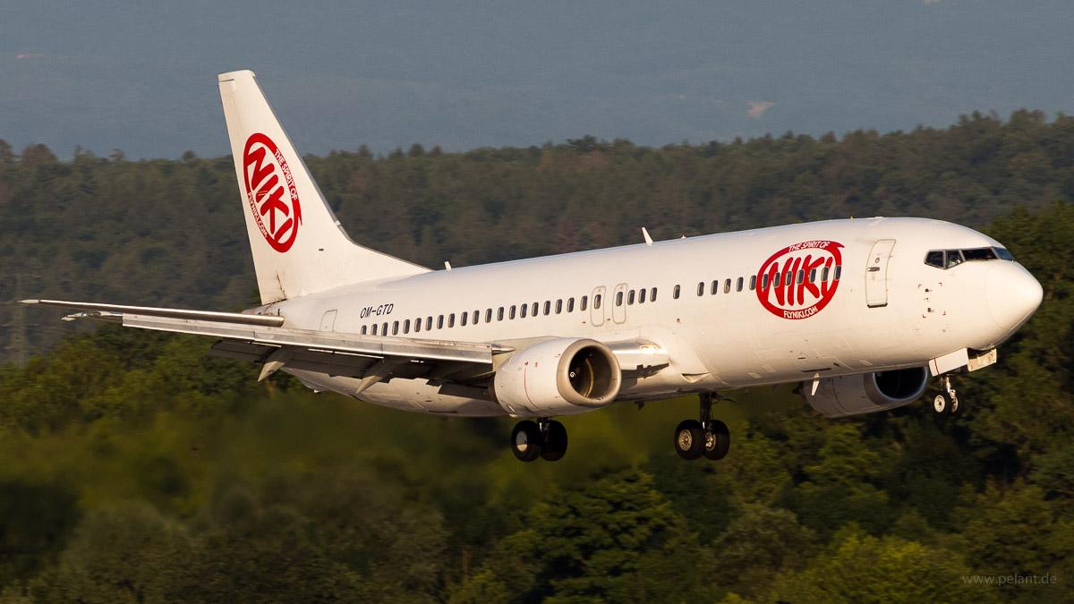 OM-GTD | NIKI operated by Go2Sky | Boeing 737-46J
