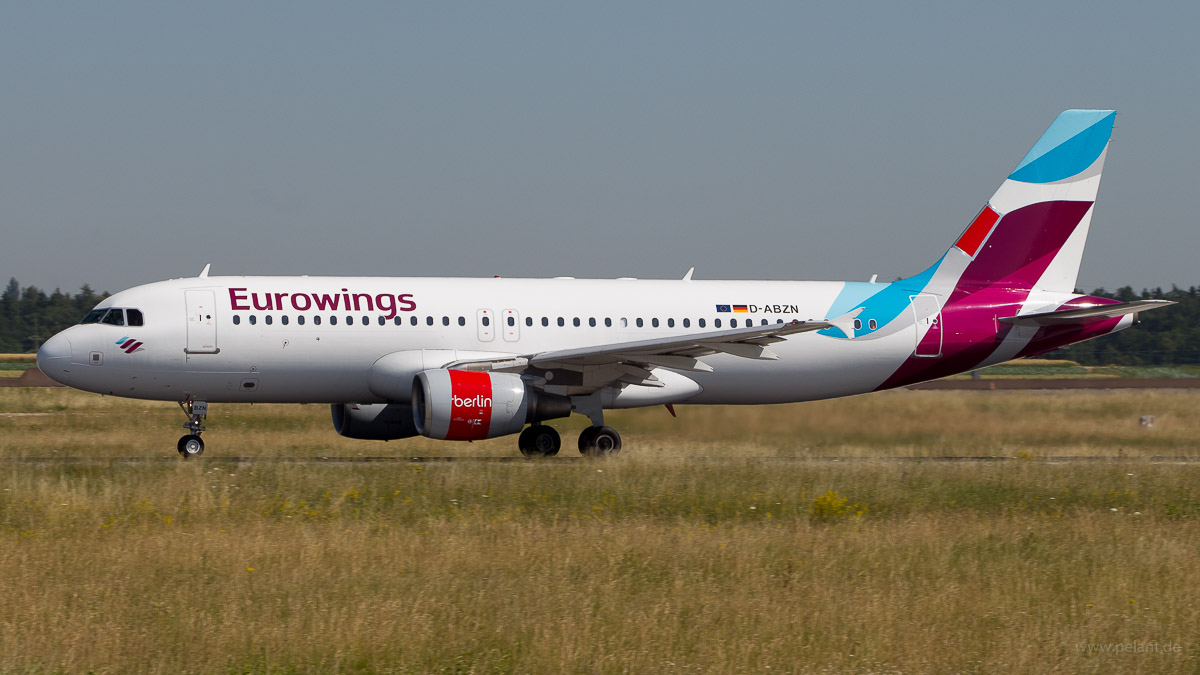 D-ABZN | Eurowings operated by Air Berlin | Airbus A320-216