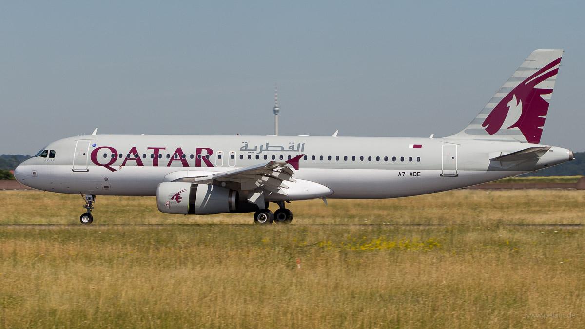 A7-ADE | Qatar Airways | Airbus A320-232