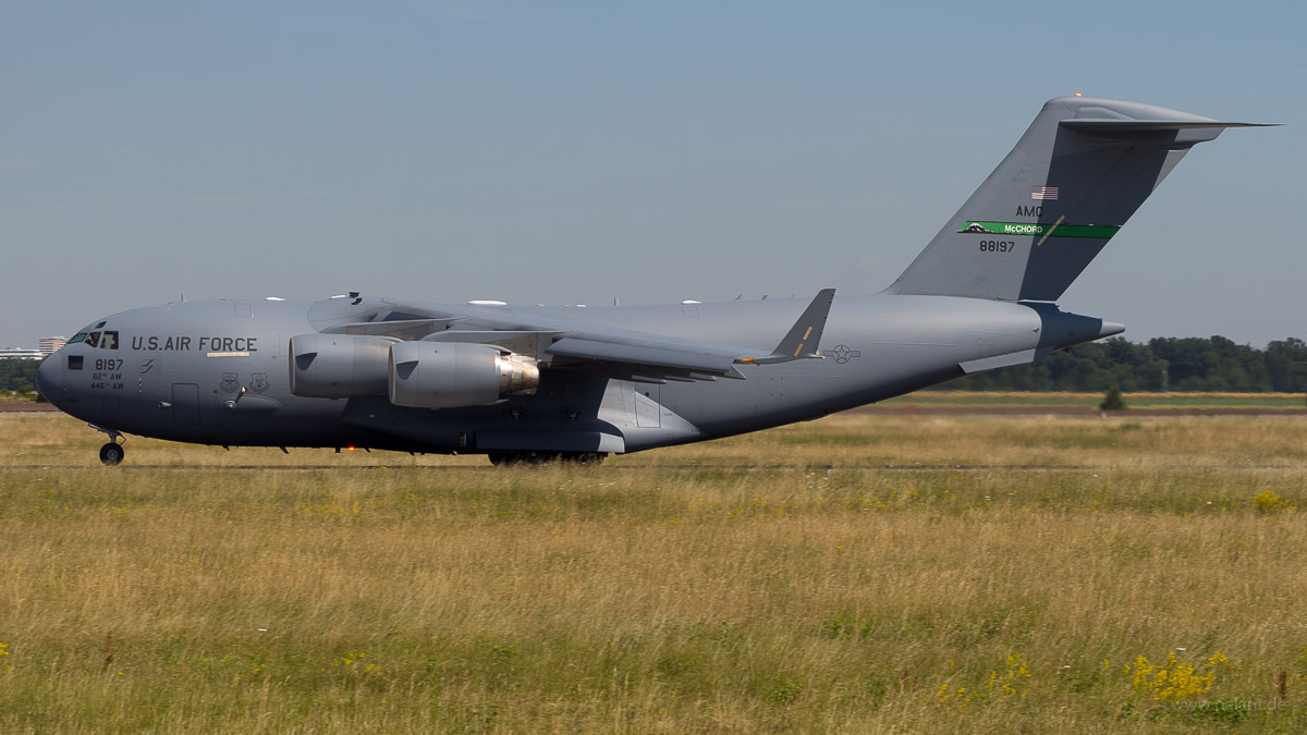 08-8197 | USAF | Boeing C-17A Globemaster III