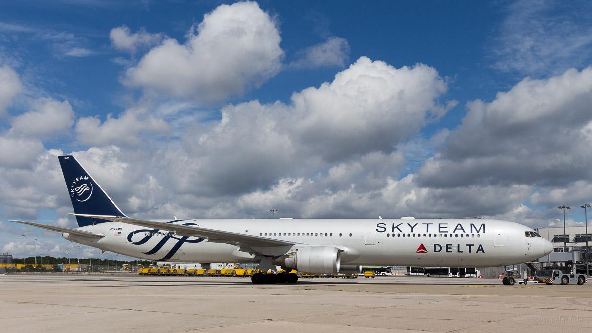 N844MH | Delta |  Boeing 767-432ER | Skyteam Special Scheme