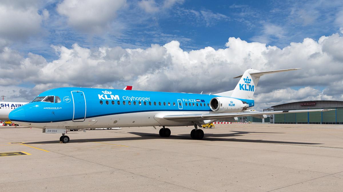 PH-KZB | KLM cityhopper | Fokker 70