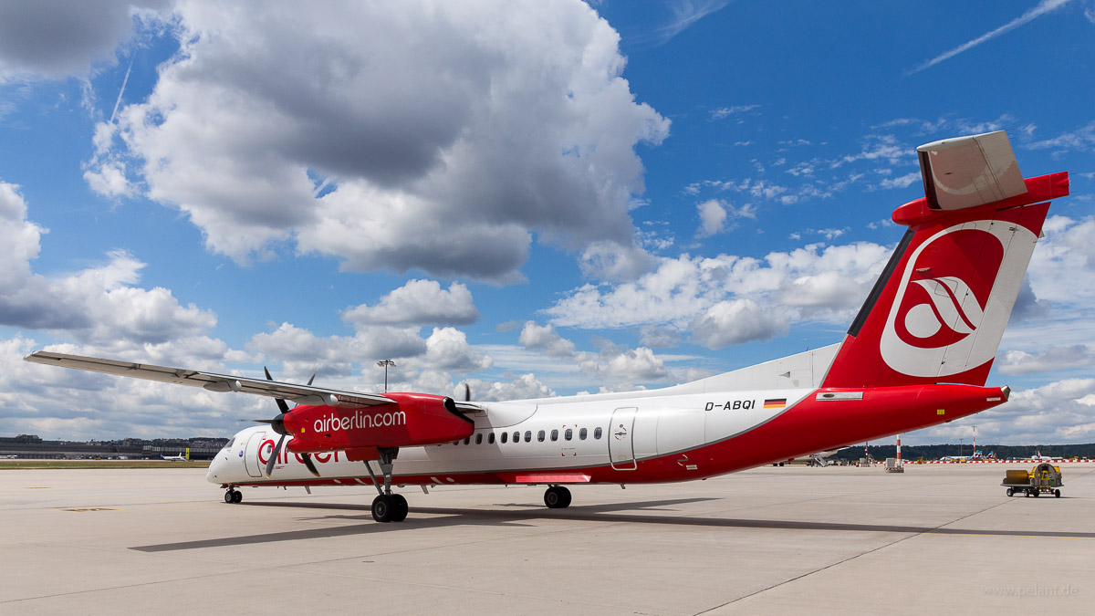 D-ABQI | Air Berlin op. by LGW | Dash 8Q-400