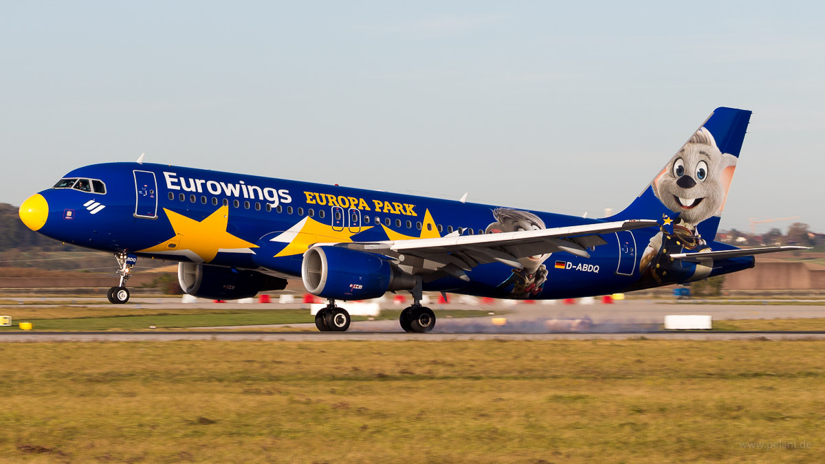 D-ABDQ | Eurowings | Airbus A320-214