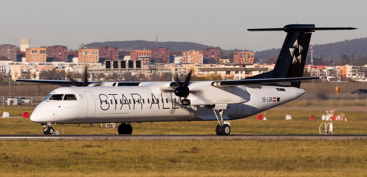 OE-LGR | Austrian Airlines | Dash 8Q-400 | Star Alliance Livery