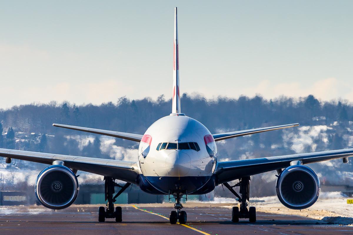 G-YMMS | British Airways | Boeing 777-236ER Cockpit frontal