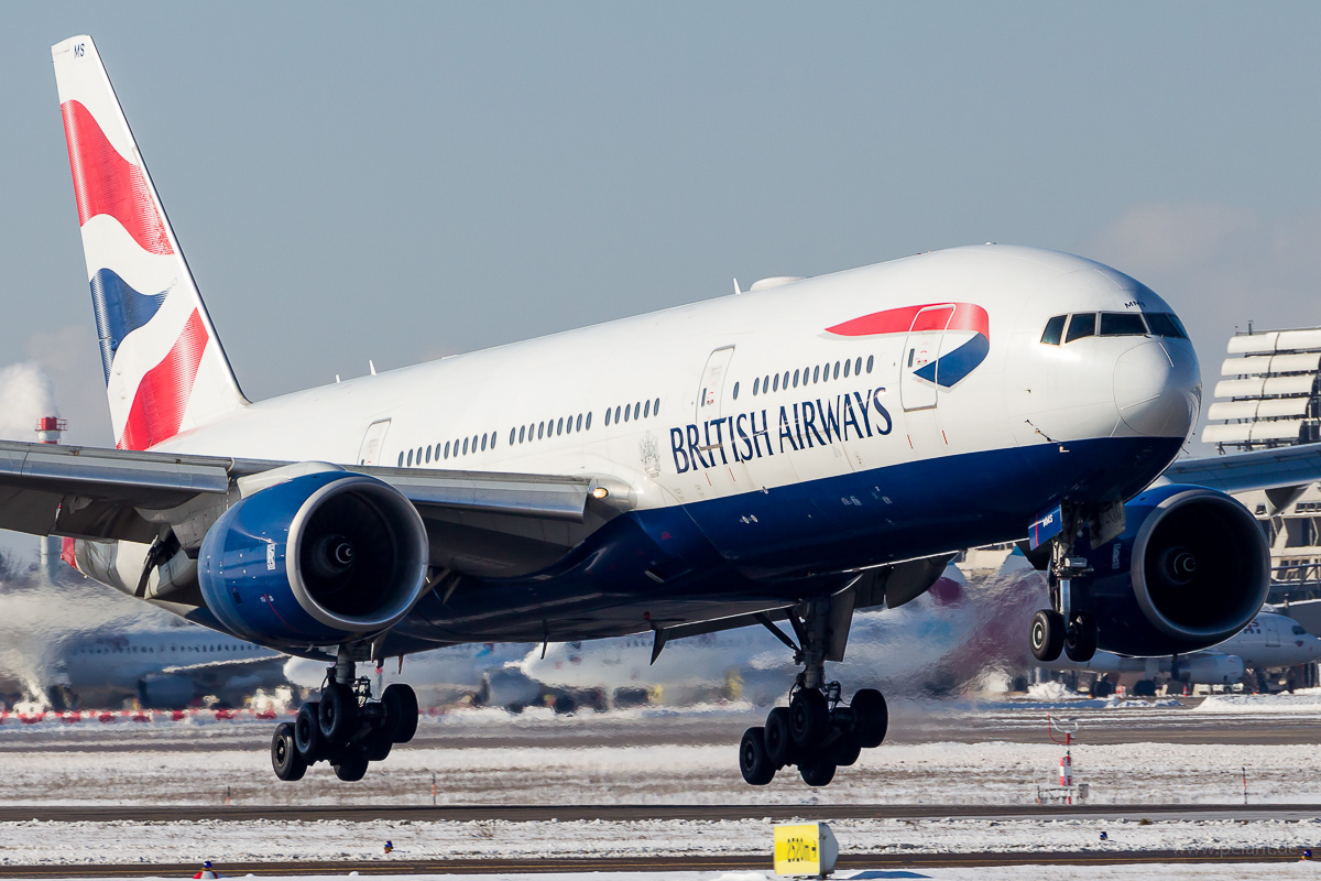 G-YMMS | British Airways | Boeing 777-236ER am Flughafen Stuttgart