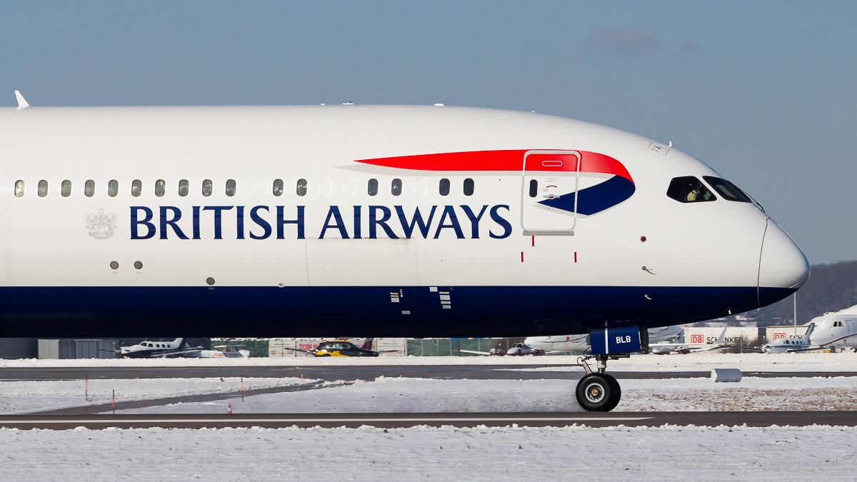 G-ZBLB | British Airways | Boeing 787-10 am Flughafen Stuttgart