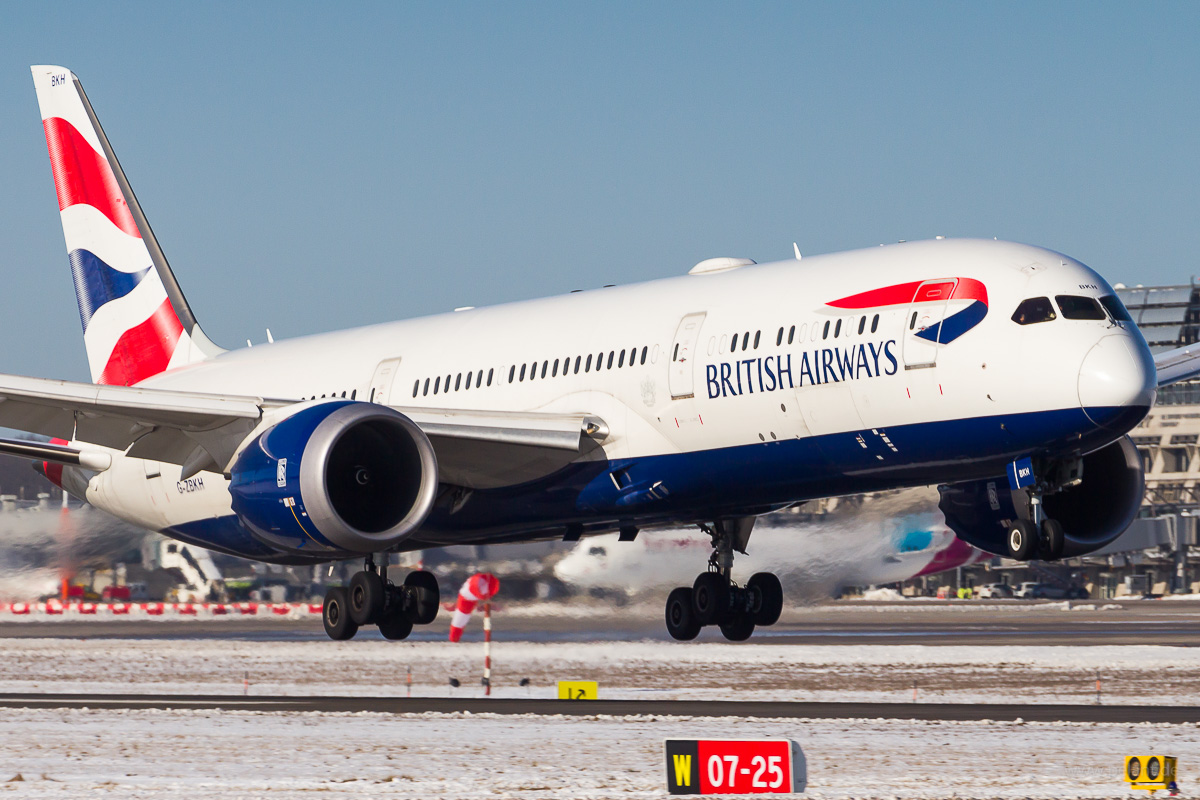 G-ZBKH | British Airways | Boeing 787-9 at Stuttgart airport (STR)