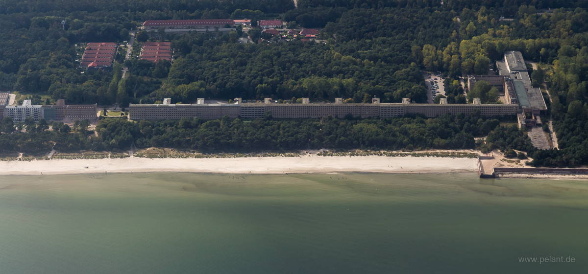 Aerial view of Prora, Rügen