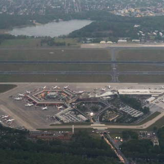 Flughafen Berlin-Tegel TXL Luftaufnahme