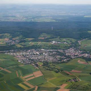 Luftaufnahme von Waldenbuch