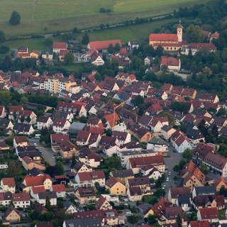 Denkendorf Luftaufnahme