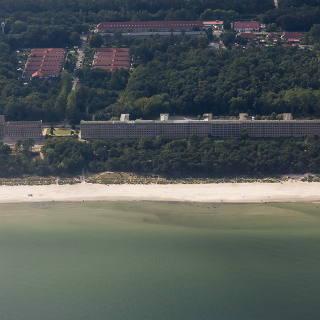 Rügen Prora Luftaufnahme