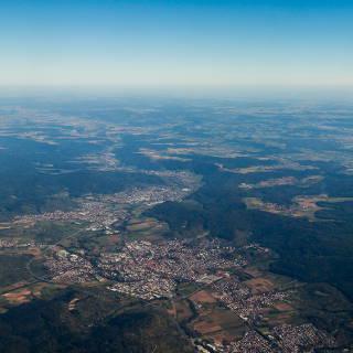Schorndorf und das Remstal aus der Luft
