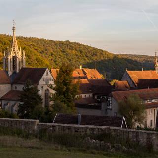 Kloster Bebenhausen im Abendlicht
