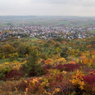 Ammerbuch-Entringen im Herbst