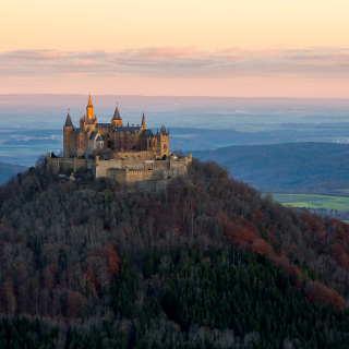 Sonnenaufgang Hohenzollern