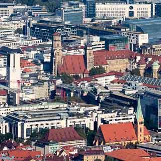 Stuttgart Mitte, Blick vom Fernsehturm